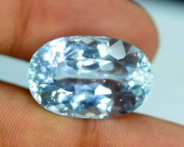 No Reserve -25.40 cts Aqua Color spodumene Gemstone From AFG (Y)
