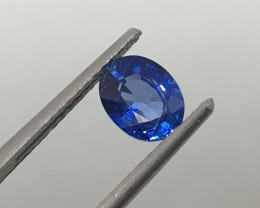 .93 Carat VVS Certified Blue Sapphire - Exquisite Color and Clarity !