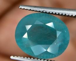 4.25 Crt Rare Grandidierite Faceted Gemstone