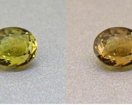 Alexandrite Untreated Ceylon Olive Green 1.81 Ct. Certified (00421)