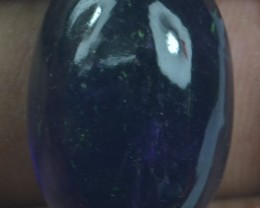 30.90 CT NATURAL UNTREATED AMETHYST CABOCHON X21-109