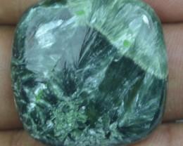 35.35 Ct Seraphinite Natural Untreated Cabochon x45-22