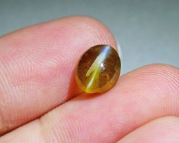 Chrysoberyl Cat's eye, (Strong Silver Ray) 3.27 Ct. (00373)