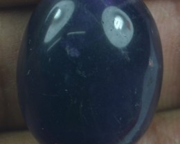 32.90 CT NATURAL UNTREATED AMETHYST CABOCHON X21-111