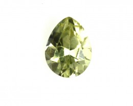 0.21cts Natural Australian Yellow Sapphire Pear Shape