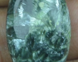 21.30 Ct Seraphinite Natural Untreated Cabochon x45-40