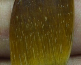 15.70 Ct  TIGERS EYE UNTREATED NATURAL BEAUTIFUL CABOCHON X28-50