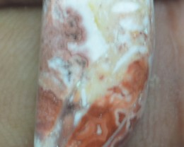 8.35 CT CRAZY LACE AGATE  BEAUTIFUL NATURAL CABOCHON x7-154