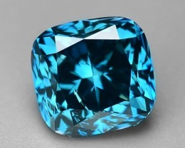 1.00 CT NATURAL BLUE DAIMOND SPARKLING LUSTER GD2