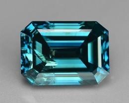 1.01 CT BLUE DAIMOND SPARKLING LUSTER GEMSTONE GD4