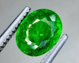 1.21 Crt Natural Tsavorite Sparkling luster Faceted Gemstone (Ts 07)