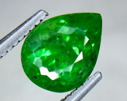 2.16 Crt Natural Tsavorite Sparkling luster Faceted Gemstone (Ts 08)