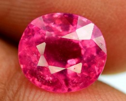 No Reserve - 2.70 cts Rubellite Tourmaline Gemstone From Afghanistan