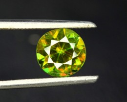 1.25 carats AAA Color Full Top Fire Natural Chrome Sphene from Pakistan