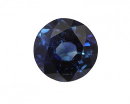 0.57cts Natural Australian Blue Sapphire Round Shape