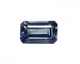 0.33cts Natural Australian Blue Sapphire Emerald Cut