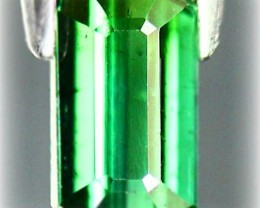 1.22ct Emerald Green Tourmaline - Magnificent color NR