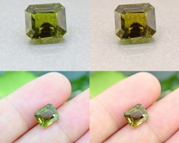 Alexandrite 2.96 Ct. Certified Unheated Ceylon Olive Green (00622)