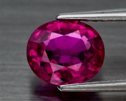 1.01ct Rubellite Tourmaline - Incredible color (included)