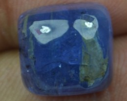 13.90 Ct Tanzanite Cabochon (Natural+Untreated) X39-41