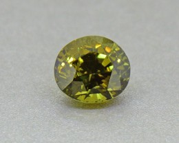 Chrysoberyl 1.98 Ct. Certified Unheated Ceylon Olive Green (00621)