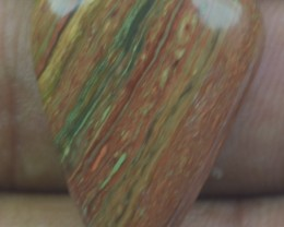 15.30 CT BEAUTIFUL STRIPED JASPER (NATURAL+UNTREATED) X32-129