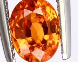 1.52ct Bright Mandarin Orange Garnet Gem for setting