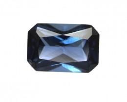 0.67cts Natural Australian Blue Sapphire Emerald Cut