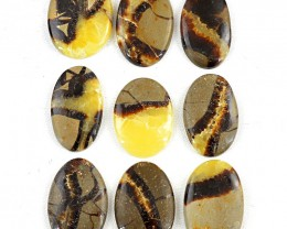 Genuine 311.00 Cts Oval Shape Septarian Agate Gemstones