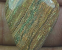 23.25 CT BEAUTIFUL STRIPED JASPER (NATURAL+UNTREATED) X32-137