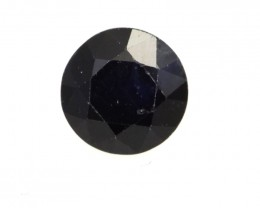 0.50cts Natural Australian Blue Sapphire Round Shape