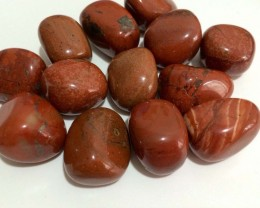 Natural Red Jasper Stone Tumbled 100 Grm