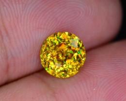 Rare AAA Fire 1.81 ct Malayaite Sphene Bright Yellow Badakhshan Sku-19