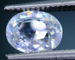 Diamond Like Brilliance 3.16 ct White Zircon Cambodia SKU.2