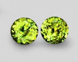 Green Sphene 1.41 ct Pakistan