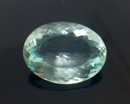 16.13 Crt Natural Aquamarine Top luster Faceted Gemstone (AQ 03)