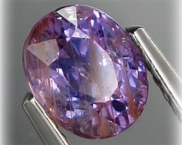 Fascinating 1.88ct Lavender Sapphire (untreated) Great sparkle Tanzanian st