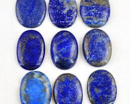 Genuine 565.00 Cts Blue Lapis Lazulli Oval Shape Gem Lot