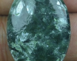 30.20 Ct Seraphinite Natural Untreated Cabochon x45-37