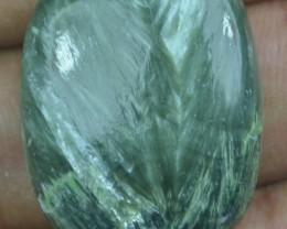 27.25 Ct Seraphinite Natural Untreated Cabochon x45-39