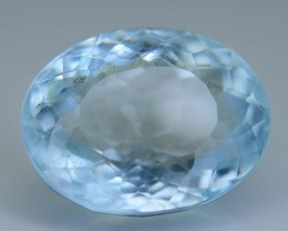 4.31 ct Brazillian Aquamarine Attractive Color SKU.4