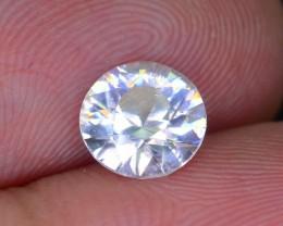 Gil Certified Diamond Like Brilliance 1.59 ct White Zircon Cambodia SKU.2