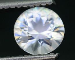 Gil Certified Diamond Like Brilliance 1.41 ct White Zircon Cambodia SKU.2