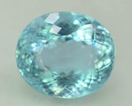 Gil Certified AAA Grade 10.50 ct Attractive Color Aquamarine