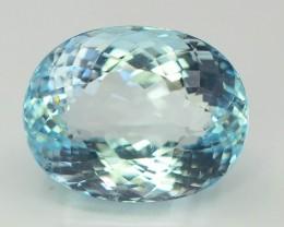 Gil Certified AAA Grade 14.52 ct Attractive Color Aquamarine