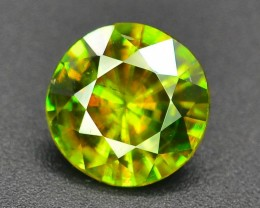 AAA Color 2.30 ct Chrome Sphene from Himalayan Range Skardu Pakistan