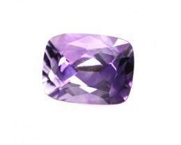 4.12cts Natural Purple Amethyst Cushion Shape