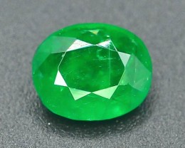 Top Color 0.85 ct Natural Untreated Emerald~Swat SM.1