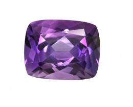 4.73cts Natural Purple Amethyst Cushion Shape