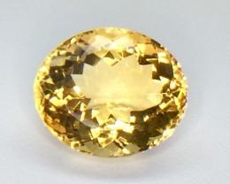 13.87 Crt Natural Citrine Faceted Gemstone (CR 01)